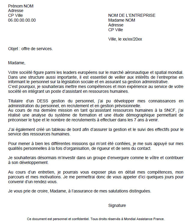 emploi-lettre-candidature-spontanee