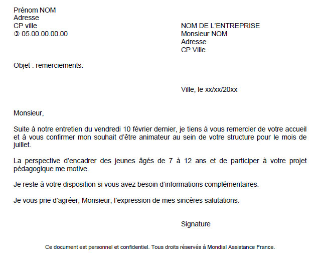 exemple de cv mixeur son