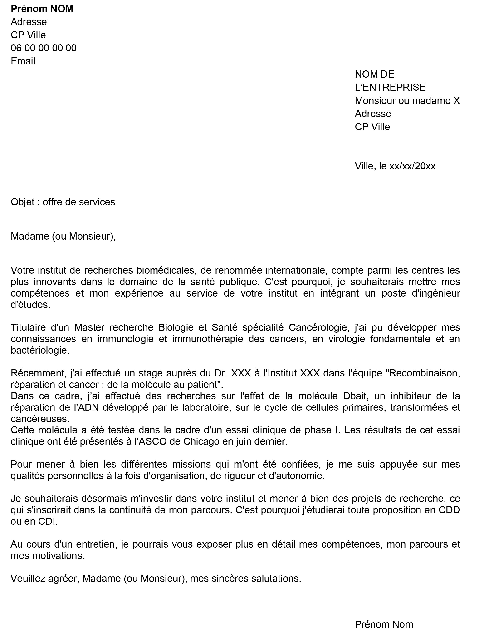 Lettre De Motivation Candidature Spontanee Credit Mutuel