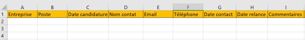 Suivi Excel